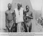 """Negroes from northern territories of Gold Coast; A good many of this type found their way to America as """"Koromanti"""" slaves because they were shipped from the British and Dutch coast stations of Coromantyn or Koromanti near Cape Coast"""
