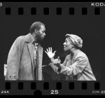 "Moses Gunn and Madge Sinclair in production of ""Boesman and Lena"" at Los Angeles Theatre Center, Calif., 1986"