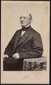 [William Lloyd Garrison, abolitionist, journalist, and editor of The Liberator]