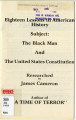 Eighteen Lessons in American History, Subject: The Black Man and the United States Constitution