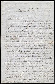 Letter to] Dear Miss Anne [manuscript