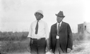 Leland College near Baton Rouge. President Watson, Leland and President Clark of Southern Univesity at Leland College