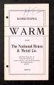 Something Warm from the National Brass & Metal Company, Minneapolis, Minnesota