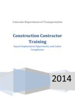 Construction contractor training : equal employment opportunity and labor compliance
