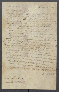 [Bill of sale for a slave girl named Lucy] Michael Reed Papers