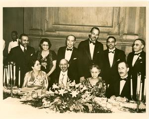 W. E. B. Du Bois, 70th birthday dinner, Atlanta University