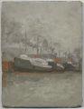 Steam Ships at berth