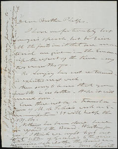 Letter from Joshua Leavitt, to Amos Augustus Phelps, [July, 1846]