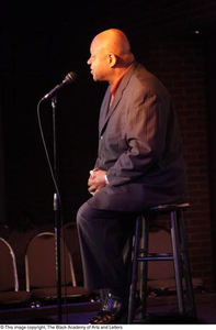 Dutton speaking on stage, 3