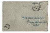 Letter, 26 Oct. 1918, France, to Mrs. Retta Boatwright, Ridge Spring, S.C