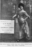 C. W. Bunn; Manufacturer of hardwood lumber, railroad and bridge timbers; Cassopolis, Mich