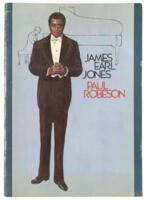 """James Earl Jones as Paul Ribeson,"" circa 1978"