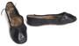 Women's black ballet slippers