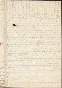 Letter from Sarah Moore Grimkè, Philadelphia, [Pennsylvania], to Elizabeth Pease Nichol, 1840 November 14
