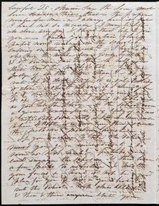Letter from Caroline Weston, Roxbury, [Mass.], to Deborah Weston, Oct. 5, 1841