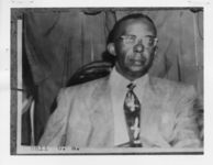 Mississippi State Sovereignty Commission photograph of C.A. Hall, Jackson, Mississippi, 1950s