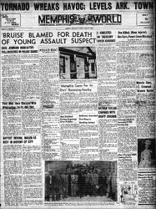 Memphis World, 1953 April 21st