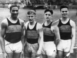 Marquette track relay team, 1932