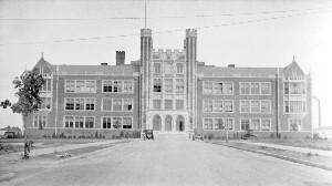 Colored High School (cost half a million dollars)