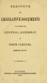 Executive and Legislative documents laid before the General Assembly of North-Carolina [1871; 1872]