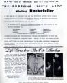Rockefeller Scandal Sheet
