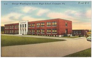 George Washington Carver High School, Culpeper, Va.