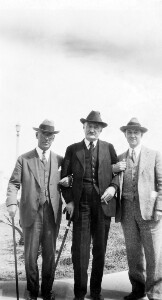 Thumbnail for Unidentified group of men. Jackson Davis on the right.