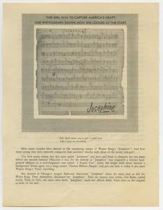 "Frank Cuellar Sr. Collection ""Josephine"" by Wayne King"