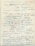 """Mrs. Gooding to """"Student and C.A.P."""" (Undated)"""