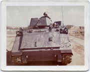 M113 armored personal carrier on duty in Viet Nam.