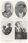 Rev. Wiley Homer.; Rev. William Butler. ; Rev. and Harriet Stewart Edwards. ; Rev. and Maria Jones Sands