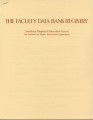 The Faculty Data Bank Registry