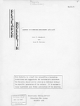 Research Bulletin: Changes in Nonwhite Employment 1960-1966, by Joel T. Campbell and Leon H. Belcher. Educational Testing Service, Princeton New Jersey, November 1966