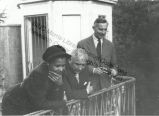Katherine Dunham, John Pratt and friend