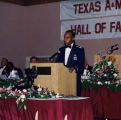 Willie Blackmon at Texas A & M University Hall of Fame Induction