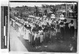 School children, Gishu, Korea, ca. 1924