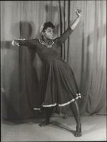 Primus, Pearl, in Hard Time Blues, dance choreographed by Pearl Primus