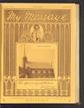 My Message, Official Organ of the Diocese of St. Cloud (St. Cloud, Minnesota), Volume 4, Number 8