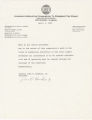 Memo from Senator John H. Hawkins, Jr., to the office personnel at the Alabama Legislative Commission to Preserve the Peace.