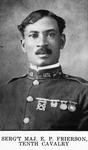 Serg't Maj. E. P. Frierson, Tenth Cavalry