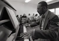 Hale Smith at the piano