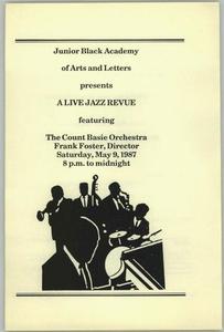 Program: A Live Jazz Revue Live Jazz Revue - Count Basie Orchestra