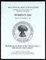 Annual Holy Convocation of the Church of God in Christ (88th: 1995), Women's day program