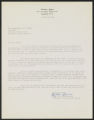 Reverend H.W. Givens correspondence