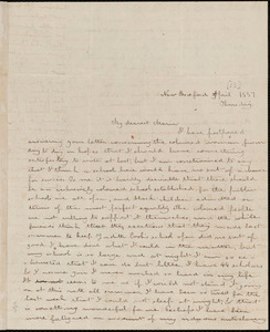 Letter from Deborah Weston, New Bedford, [Mass.], to Maria Weston Chapman, [not after 1837 April 14]