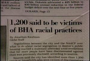 NAACP and BHA discrimination