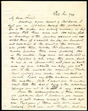 Letter to] My Dear Friends [manuscript