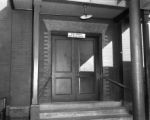 Entrance to Colored Waiting Room at Seaboard Station