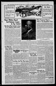 The Black Dispatch (Oklahoma City, Okla.), Vol. 7, No. 6, Ed. 1 Thursday, January 12, 1922