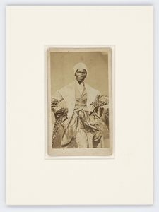 Carte-de-visite of Sojourner Truth